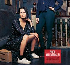 Style Icons Inspiration, Phoebe Waller Bridge, Bbc Tv Series, Winter Looks, White Man, Actors & Actresses, Cool Girl, Movie Tv, Beautiful People