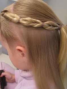 Little girl hairstyle