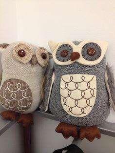 a couple of felty owl friends