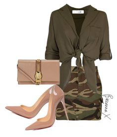 """Untitled #3198"" by breannamules ❤ liked on Polyvore featuring Yves Saint Laurent, Tom Ford and Christian Louboutin"