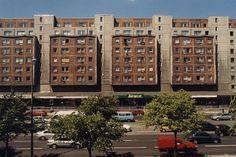 Plattenbauten, Karl-Liebknecht-Straße, Berlin