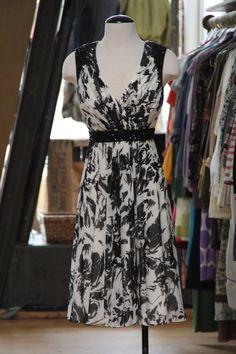 Carmen Marc Valvo Silk Dress