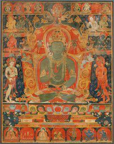 Philadelphia Museum of Art - Collections : South Asian Art Thangka Painting, Buddha Painting, Buddha Life, Buddha Art, Tibetan Art, Tibetan Buddhism, Asian Gallery, Oriental, Philadelphia Museum Of Art