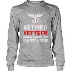 Vet tech only way happier #gift #ideas #Popular #Everything #Videos #Shop #Animals #pets #Architecture #Art #Cars #motorcycles #Celebrities #DIY #crafts #Design #Education #Entertainment #Food #drink #Gardening #Geek #Hair #beauty #Health #fitness #History #Holidays #events #Home decor #Humor #Illustrations #posters #Kids #parenting #Men #Outdoors #Photography #Products #Quotes #Science #nature #Sports #Tattoos #Technology #Travel #Weddings #Women