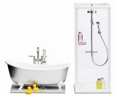 Lundby Smaland Shower and Bath 2015 - Dolls - Dollhouse Furniture