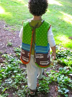 Back to School Art Smock Tutorial « Sew,Mama,Sew! Blog