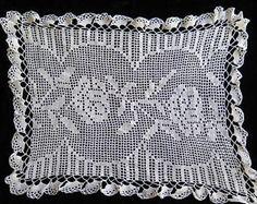 Vintage Crochet Runner//Vintage Tray cloth//Vintage Crochet - Edit Listing - Etsy