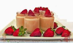 Yogur de fresa casero. INCLUYE VIDEO.