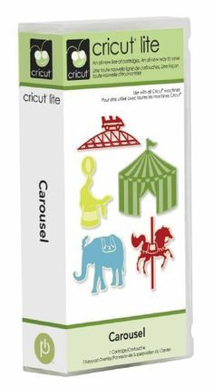www.cricut-cartridges.com | Cricut Cartridge - CAROUSEL - Carnival and Circus THemed - RETIRED and ...