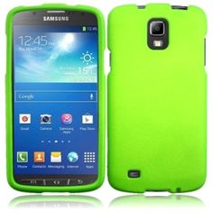Insten Rubberized Matte Hard Plastic PC Snap-on Phone Case Cover for Samsung Galaxy S4 Active #1519714