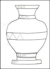 ancient greece coloring pages coloring pages greek amphora historia pinterest coloring. Black Bedroom Furniture Sets. Home Design Ideas