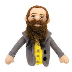 Herman Melville Finger Puppet Magnet