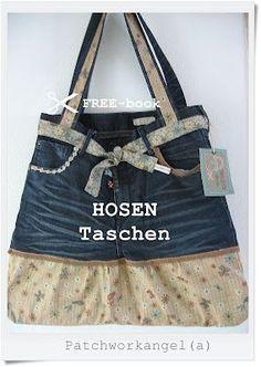 """PATCHWORKangel(a): FREEbook """"HOSENTaschen""""..."""