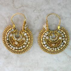 Oaxacan filigree and pearls