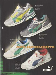 The evolution of Puma - read about it on the blog.