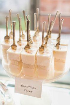 15 Delicious Shot Glass Wedding Dessert Ideas ~ we ♥ this! moncheribridals.com