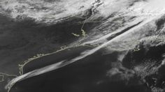 A rare cloud formation was caught by a satellite as it rolled across the Gulf of Mexico on April 27.    The formation is called an undular bore, or gravity wave train, and it appears as rarely as once a month. An undular bore is a disturbance in the Earth's atmosphere that can be seen as clouds move in waves. They normally occur within an area of the atmosphere that is stable in the low levels after a cold front moves through.