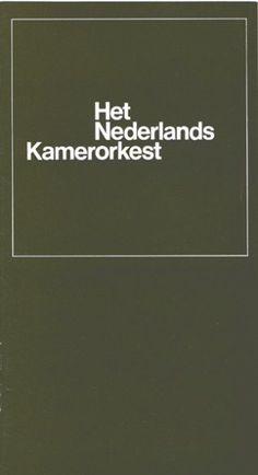 Het Nederlands Kamerorkest (Dutch Chamber Orchestra) brochure, Het Nederlands Kamerorkest, 1966