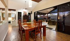 Karndean Flooring | Open wall to separate living