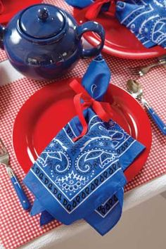 Playfully Childlike 4th of July - Tea Time Magazine.