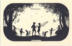 Elf wedding, Elfenhochzeit, Elsbeth Forck, 1920/30