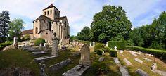 Cimetière au moines du XIIème de l'abbaye du Chalard