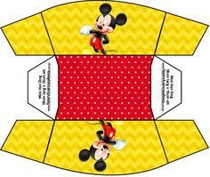Mini Cachorro-quente Mickey: