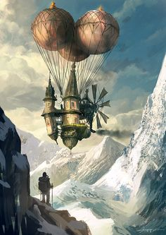 Steampunk Tendencies | The Art of Yo Shimizu