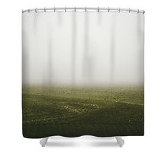 Foggy Autumn Morning Shower Curtain by Cesare Bargiggia