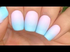 Simple Pastel Gradient Nails -  Looks simple enough... great for kids, adults, myself... LOL do it guys!!!!!!!!!!!!!!!!!!!!!!!!!!!!!!!!!!!!!!!!!!!!!!!!!!!!!!!!!!!!!!!!!!!!!!!
