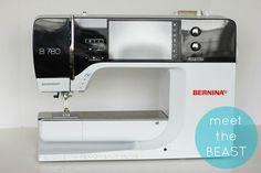 """Meet the Beast!"" The new BERNINA 780 E embroidery machine - V and Co."