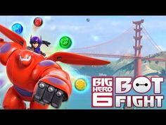 Juego Big Hero 6 Bot Fight - para Android - YouTube