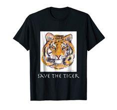 Save The Tiger, Whimsical, Wisdom, Amazon, Mens Tops, T Shirt, Tee, Riding Habit, Amazon River