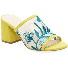 58a4da102a9507 Seychelles Women s Embroidery Mule Sandal - Yellow