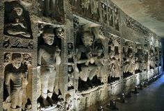 Ajanta caves were discovered in 19th century. Located in the state of Maharashtra, these caves have the paintings and sculptures that are a masterpiece of Buddhist religious art. These caves have been a UNESCO World Heritage Site since the year 1983.