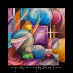 Abstract Painting Geometric Contemporary Modern by GrayArtus http://www.grayartus.com/#!gray-artus-original-paintings-for-sale-/c10i7