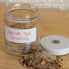 Homemade Jamaican Jerk Seasoning