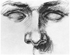 Realistic Drawings Through the eyes of John Baselmans How to draw nose in pen and ink 1 Realistic Eye Drawing, Nose Drawing, Human Drawing, How To Draw Realistic, Art Drawings Sketches Simple, Pencil Art Drawings, Eye Drawings, Creepy Eyes, Creepy Drawings