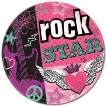 Rock Star, Tallrikar