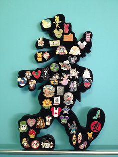 Disney Goofy Pin Display holds approx 50 pin by PinDisplaysPlus, $52.00
