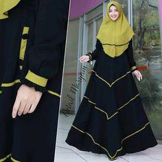 Maryam by Humaira Hijab Fashion Muslimah, Modern Hijab Fashion, Muslim Women Fashion, Islamic Fashion, Abaya Fashion, Womens Fashion, Abaya Designs, Frocks, Kurti