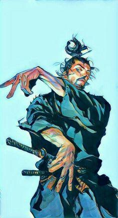 Ronin Samurai, Samurai Warrior, Character Drawing, Character Illustration, Manga Art, Manga Anime, Vagabond Manga, Cooler Stil, Samurai Artwork