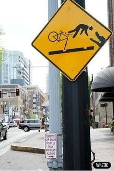 Humorous Traffic Signs: Funny and Unusual Road Signs from Around the World Funny Street Signs, Funny Road Signs, Traffic Humor, Traffic Sign, World Photo, Haha, Funny Pictures, Around The Worlds, Hilarious Stuff