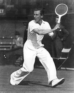The epitome of sporting elegance, Mr Fred Perry at Wimbledon  For the Gentlemen | ZsaZsa Bellagio - Like No Other