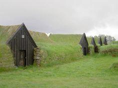 Farm house located in Keldur, Iceland