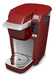 Keurig Mini B31 Plus Red Coffee Maker by Keurig. $99.00. Warranty: 1-yr. from purchase. Origin: China. Capacity: Single cup. Volts/Watts: 120-Volts/1425-Watts. Model No.: B316. B31-Red Features: -Coffee maker.-Brews in under 2 minute.-Energy saving mode auto Off after 90 seconds.-Compact size.-Simply add fresh water for each cup.-Perfect for small spaces.-Three cup sizes. Color/Finish: -Red finish. Dimensions: -Overall dimensions: 12.32'' H x 12.25'' W x 12.68'' D. ...