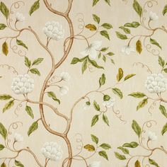 Colefax and Fowler Snow Tree Aqua Green Wallpaper, Print Wallpaper, Fabric Wallpaper, Pattern Wallpaper, Classic Wallpaper, Wallpaper Ideas, Chinoiserie, Colefax And Fowler Wallpaper, Serger Patterns