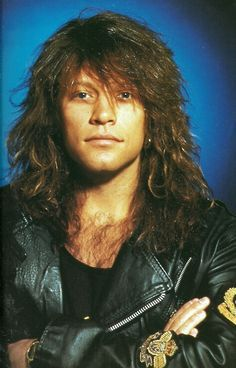 Jon Bon Jovi. I lovelovelove this.