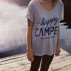 happy camper tee | Camp Brand Goods