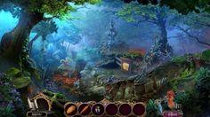 Ausgehungerte Minotauren drohen das Menschenreich zu zerstören. Finde heraus, was der geheimnisvolle schwarze Baum damit zu tun hat! #Wimmelbildspiele #Fantasy